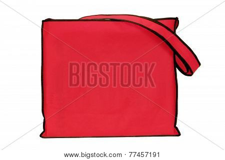 Big Red Shopping Tote Bag
