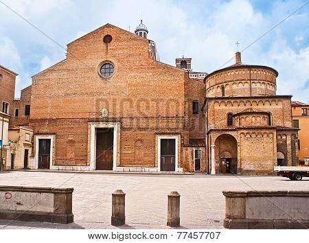 The Medieval Cathedral Of Padua