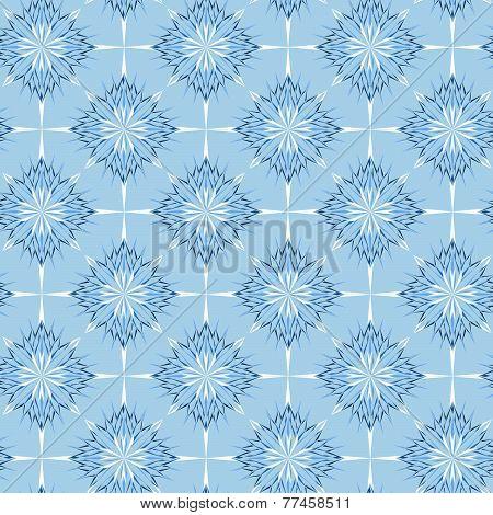 Snowflakes seamless texture