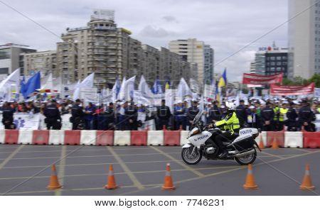 Strike em Bucareste