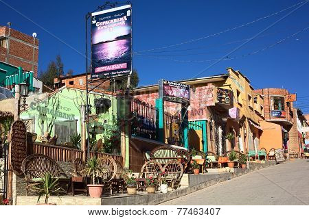 Restaurants in Copacabana, Bolivia