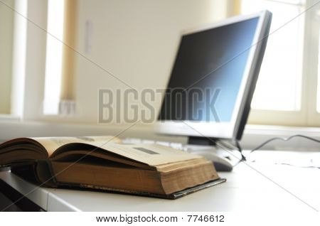 Books And Computer