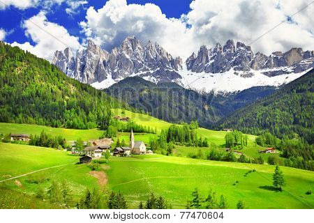 Dolomites - wonderland in Alps