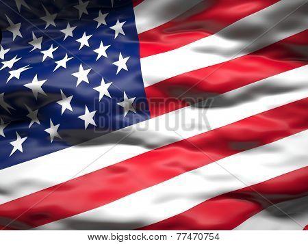 american old glory 3d flag