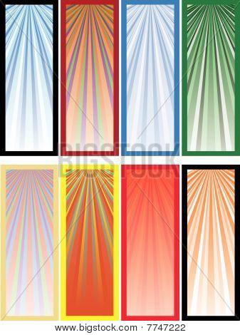 farbige Banner, Teil 3