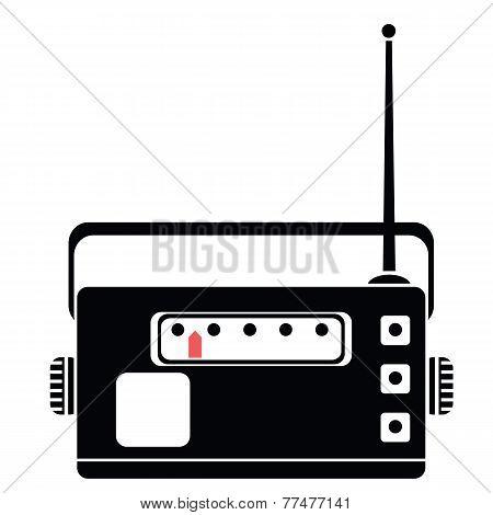 Radio Silhouette