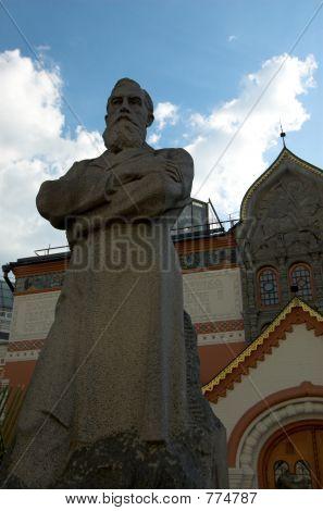Tretyakov's monument