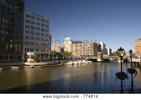 Milwaukee River Downtown