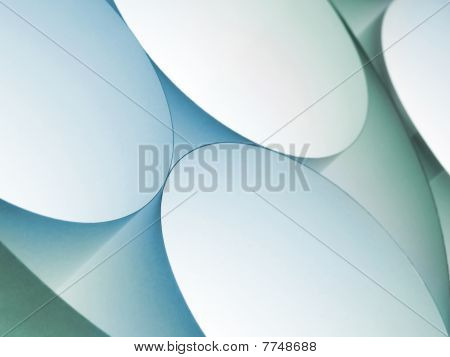 Rolled Paper Abstract Background