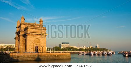 Gateway To India Panorama