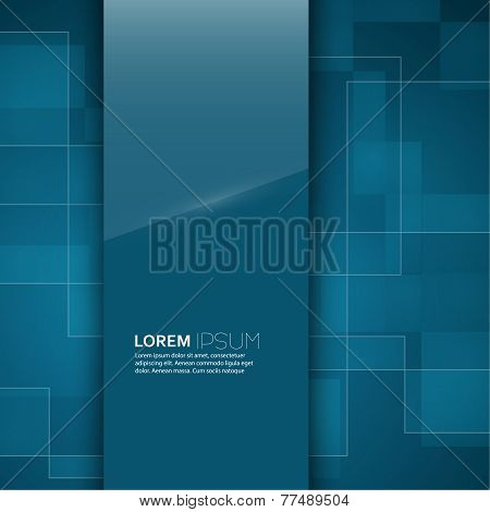 Turquoise glossy blank with a background texture