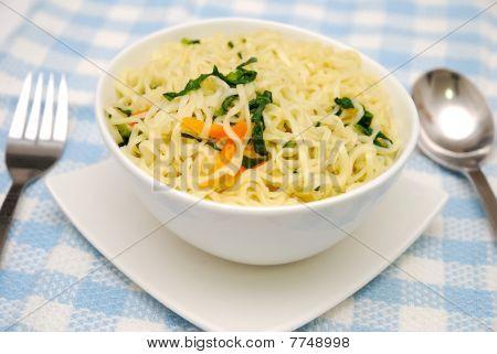 Oriental Style Vegetarian Noodles