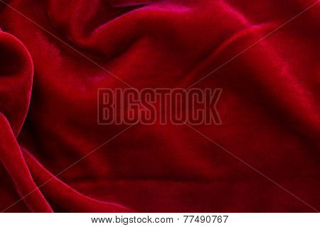 red velvet background