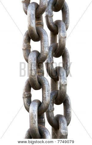 Chain Link Isolated On White