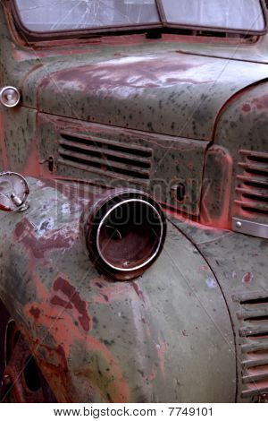 Old rustic truck