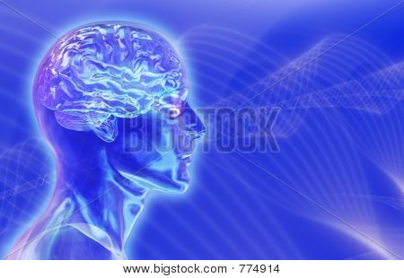 Brainwaves Background 3