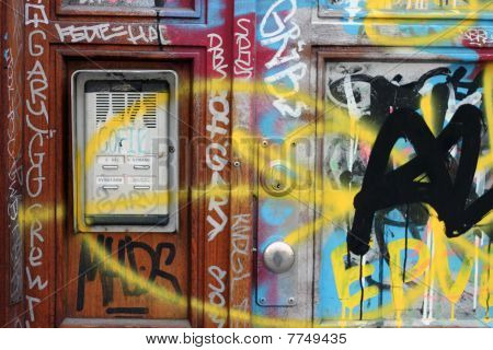 Graffiti Doorway