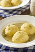 picture of penicillin  - Hot Homemade Matzo Ball Soup in a Bowl - JPG