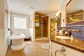 picture of mirror  - Luxury bathroom interior - JPG