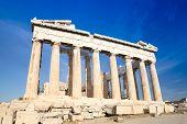 foto of parthenon  - Parthenon on the Acropolis in Athens - JPG