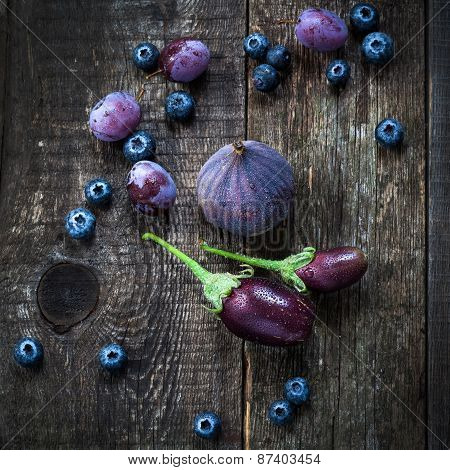 Purple Color In Vegetables