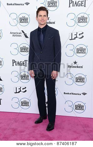 LOS ANGELES - FEB 21:  Matt Bomer arrives to the 2015 Film Independent Spirit Awards  on February 21, 2015 in Santa Monica, CA