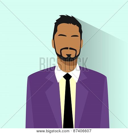 Businessman African American Race Profile Icon Hispanic Male Portrait