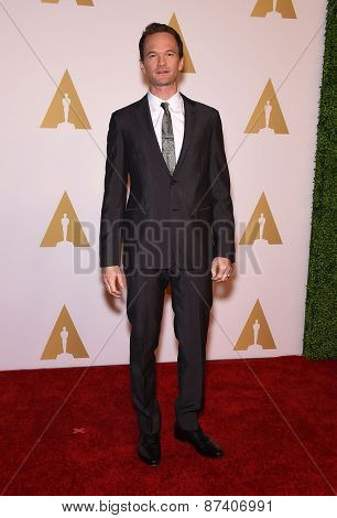 LOS ANGELES - FEB 02:  Neil Patrick Harris arrives to the Oscar Nominee Reception  on February 2, 2015 in Beverly Hills, CA