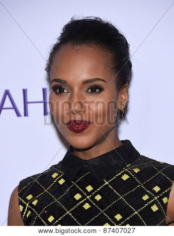 LOS ANGELES - MAR 08:  Kerry Washington arrives to the Paleyfest 2015