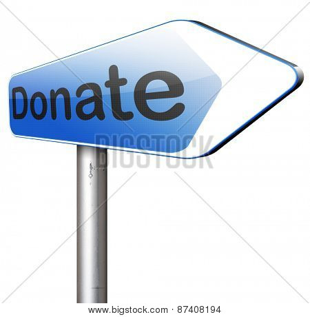 give donation to charity donateand help fund raising