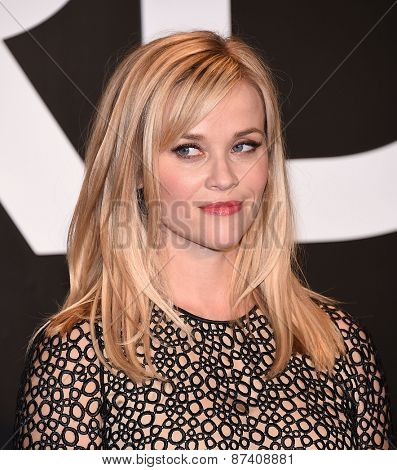 LOS ANGELES - FEB 20:  Reese Witherspoon arrives to the Tom Ford Autumn/Winter 2015 Womenswear Collection Presentation  on February 20, 2015 in Hollywood, CA