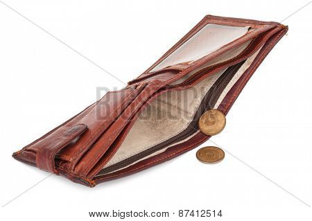 Purse with small coins
