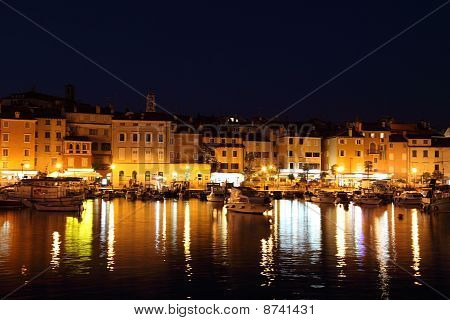 Rovinj At night, Croatia