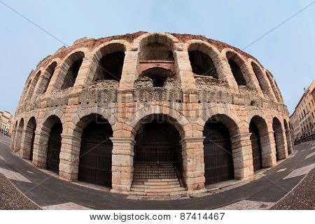 ancient arena of Verona