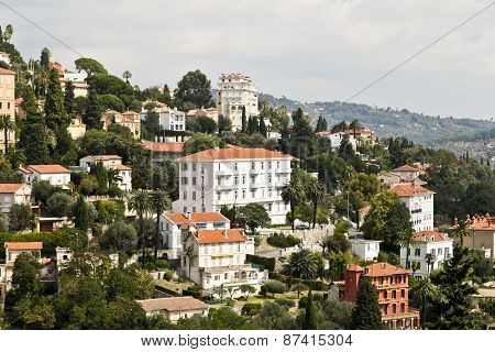Town Of Grasse In Southern France