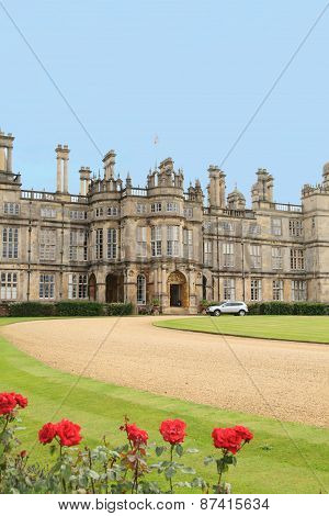 beautiful castle Burghley House