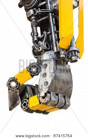 Metal Robot Parts
