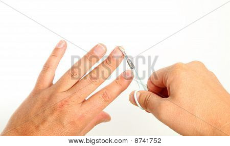 Cutting Finger Nails