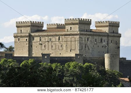 The Castel of Celano