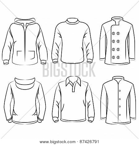 mens casual clothes and shirts
