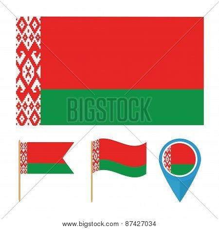 Belarus, country flag