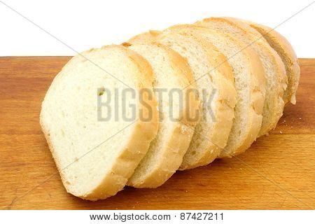 Pieces Of White Wheat Bread