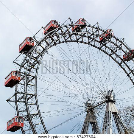 Prater Wheel, Vienna, Austria