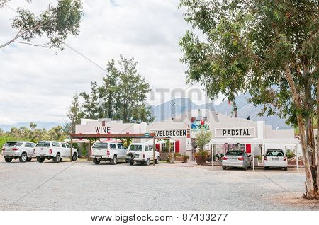 Roadside Stall In The Hex River Valley
