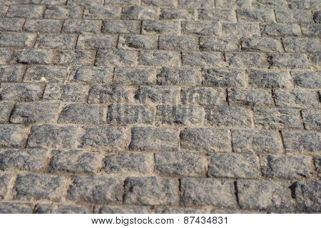 Block Concrete Road Background