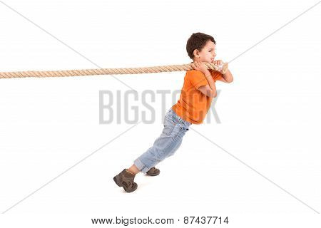 Boy With Rope