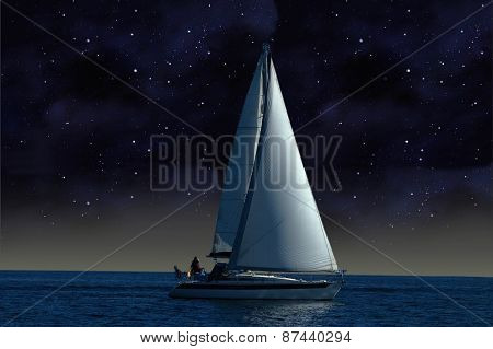 Sailboat in the Night
