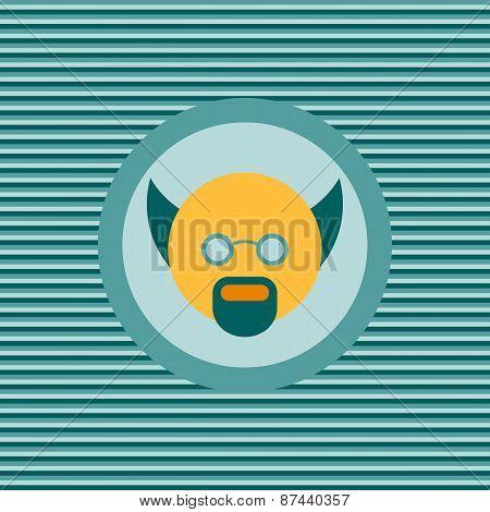 Scientist Color Flat Icon