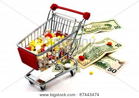 Drugs In The Shopping Cart