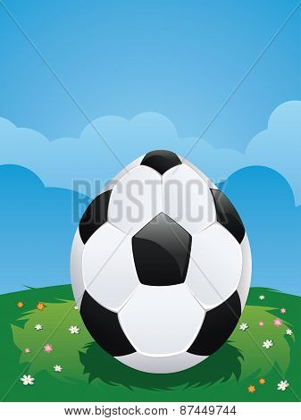 Soccer Ball Egg